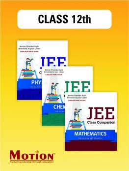 JEE PCM Study Material for Class 12th
